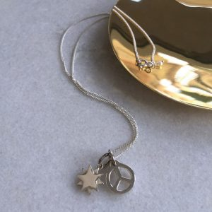 Peace & Starbright Necklace