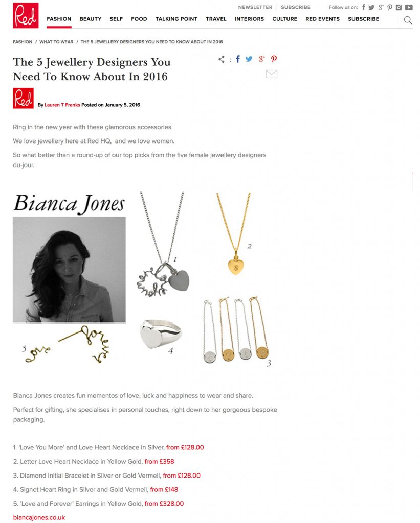 Red Magazine features designers you should know