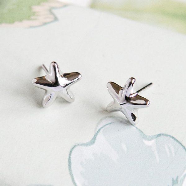 Starfish Stud Earrings