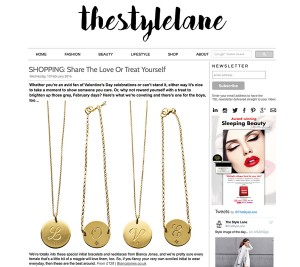 Style Lane valentines