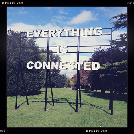 'Everything is Connected' - Peter Liversidge