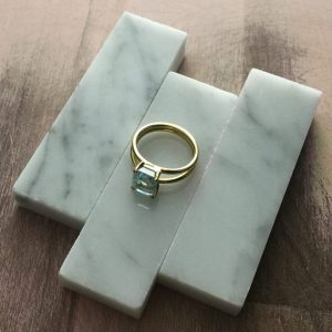 Bespoke Aquamarine Ring