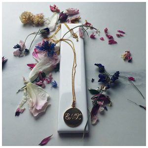 Triple Initial Gold Necklace