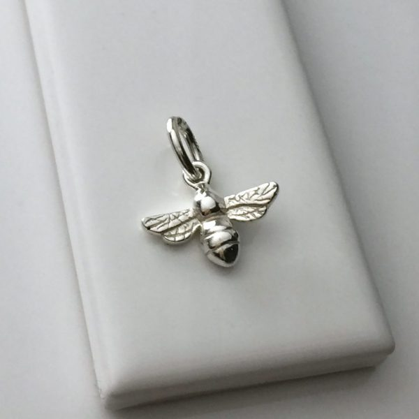 Bee Charm in Sterling Silver