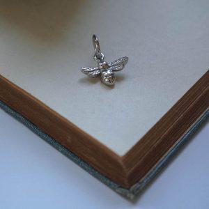 Bee Charm Silver