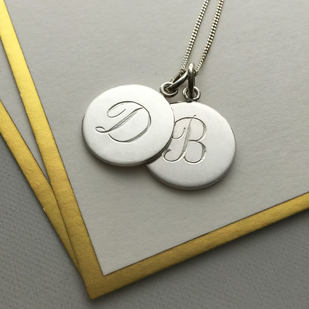 Rose Gold Initial Necklace Uk