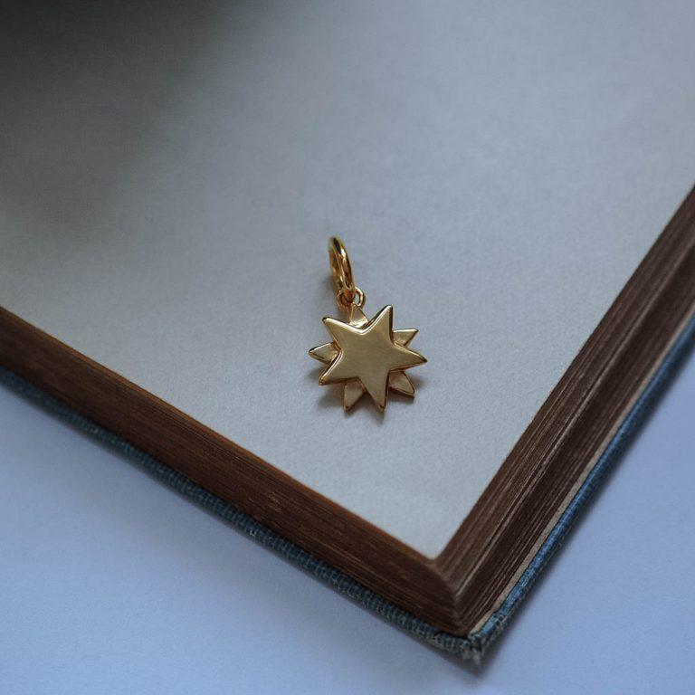 Starbright Charm Gold Vermeil