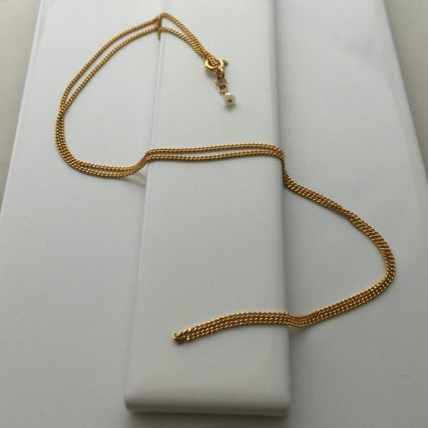 Necklace Chain in Yellow Gold Vermeil