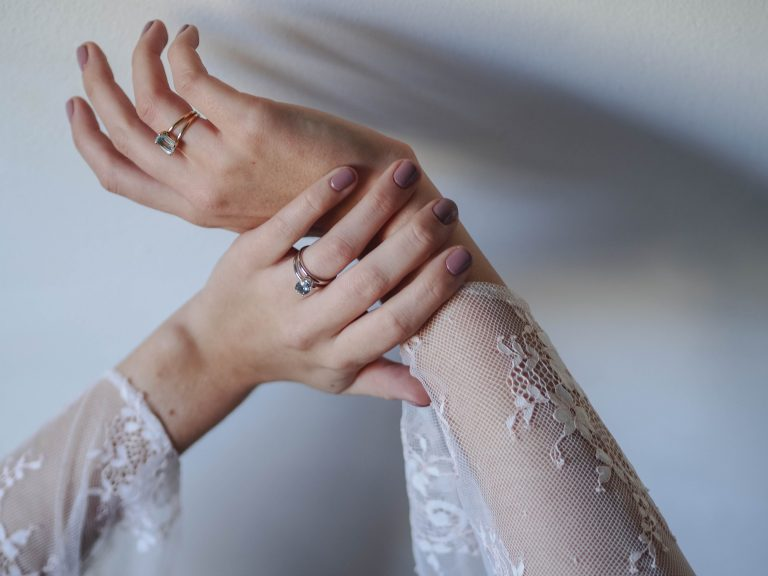 Aquamarine Ring White Gold