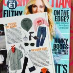 Cosmopolitan Magazine featuring Latitude and Longitude Necklace
