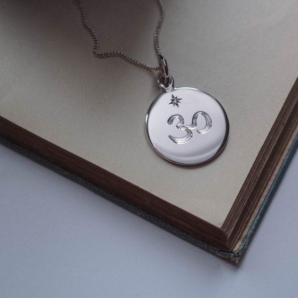 Crown Chakra Birthstone Necklace