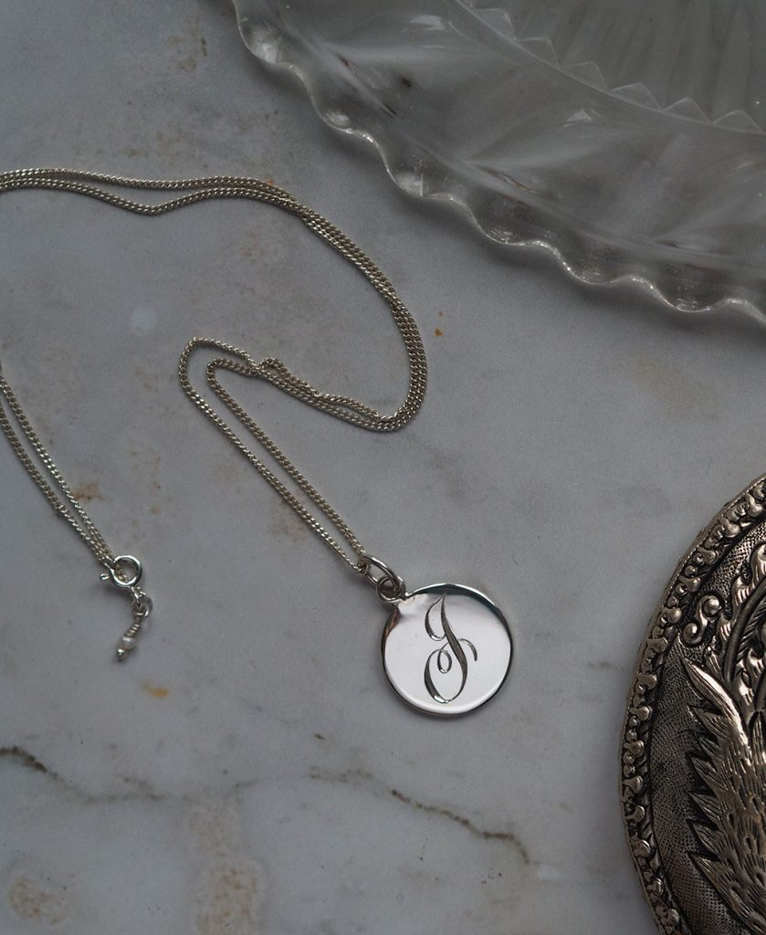 Personalised Letter Initial Necklace