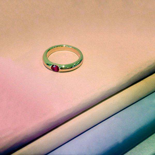 Ruby Ring by Bianca Jones Jewellery