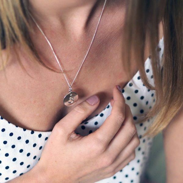 Third Eye Chakra Birthstone Necklace