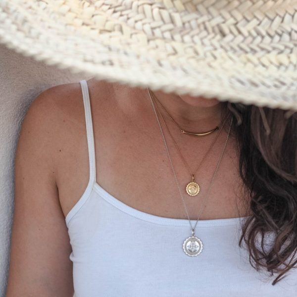 Compass Midi Necklace