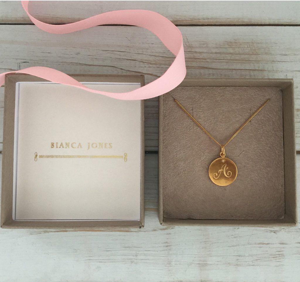 Bianca Jones Initial Necklace