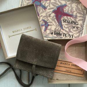 Bianca Jones packaging