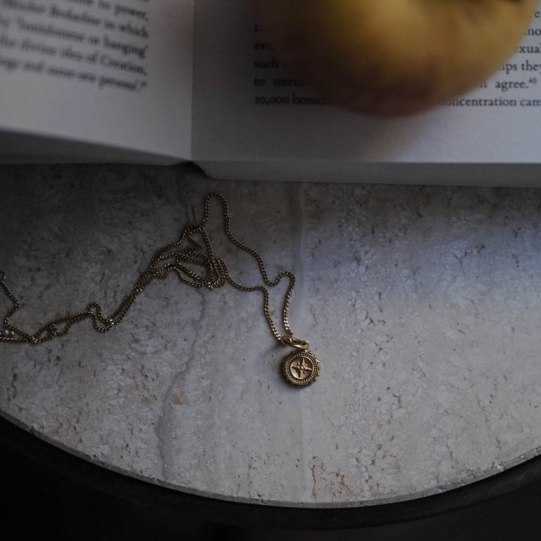 Compass Baby Necklace