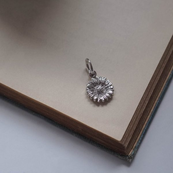 Daisy Charm Sterling Silver