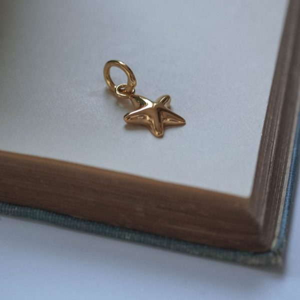 Starfish Charm in Gold Vermeil