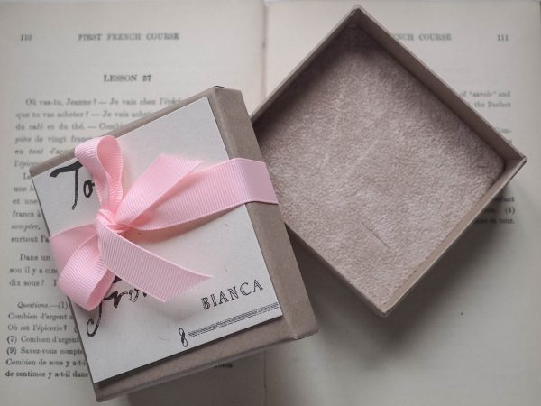Bianca Jones packaging