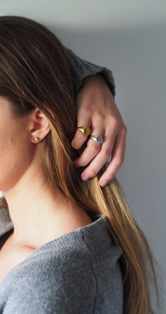 Signet rings by Bianca Jones Jewellery